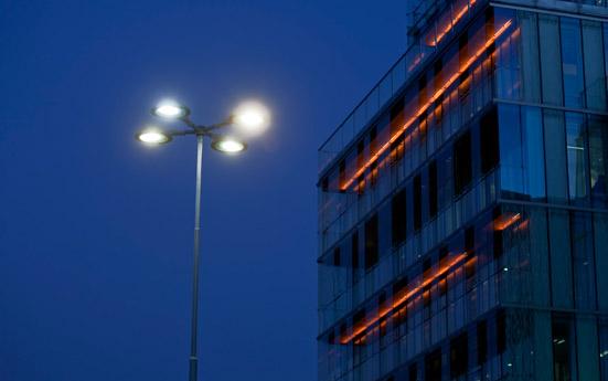 Supply Chain Management av belysning och elmateriel för Trafikkontoret Stockholms stad