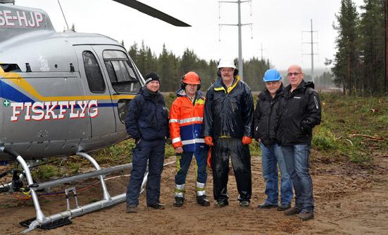Vattenfall Service valde Elektroskandia för leverans till stort transmissionsprojekt
