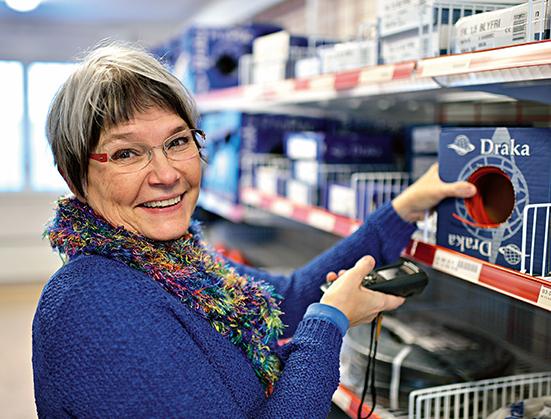 Egen butik effektiviserar LKAB i Malmberget