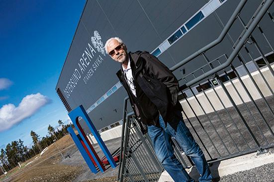 Hög säkerhet vid Östersund Arena
