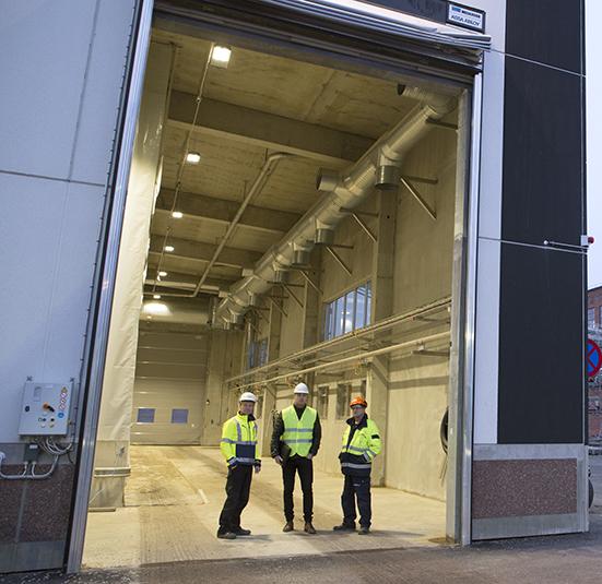 HiLED ger lägre energiförbrukning och mindre service  för SCA Ortviken