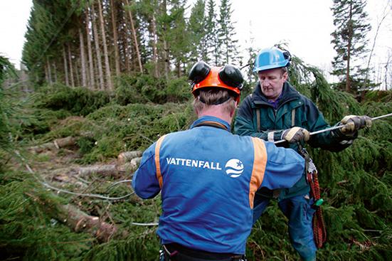Vattenfall miljardsatsar på elnät i norra Sverige