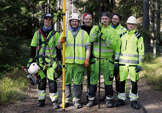 Bygga med kvalitet med egen personal– ett framgångsrecept för Sandström Nätentreprenad