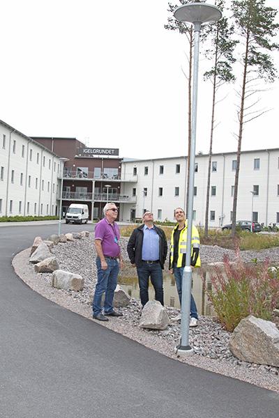 Solel ger energi till Elektroskandias nya logistikcenter