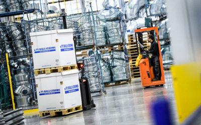 SecuriFire brandlarm säkrar Hallströms nya industrilokaler