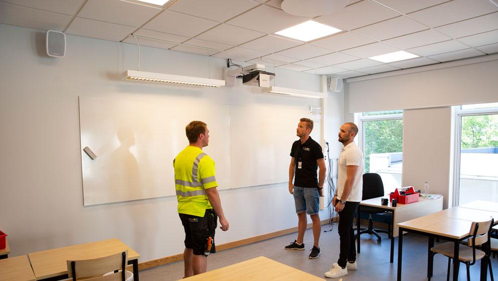 Elektroskandia totalleverantör vid utbyggnaden av Folkungaskolan