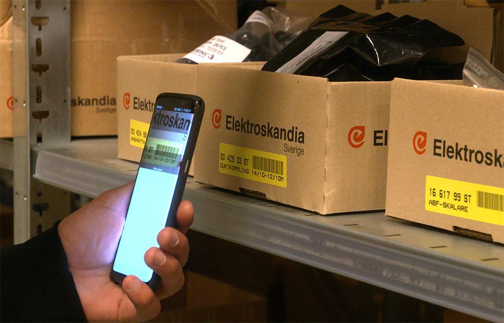 Kundunika lager tryggar materielförsörjningen för Blacklink