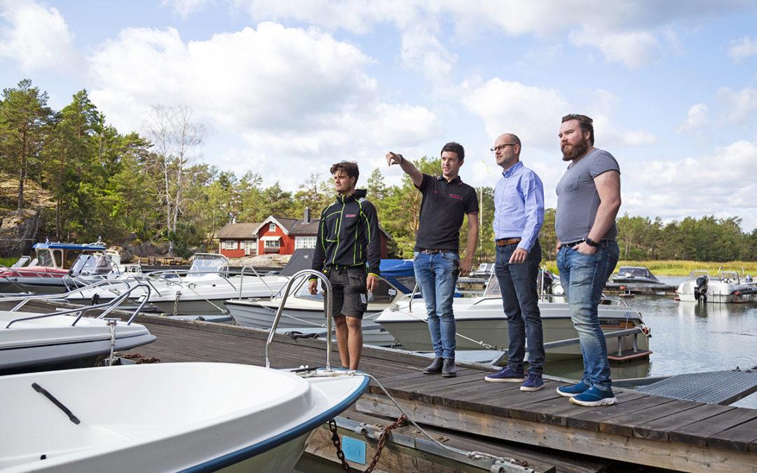 Helhetslösning till fiberprojekt i Västerviks skärgård