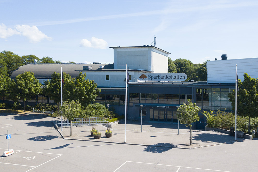Ljusare tider för Sparbankshallen i Varberg