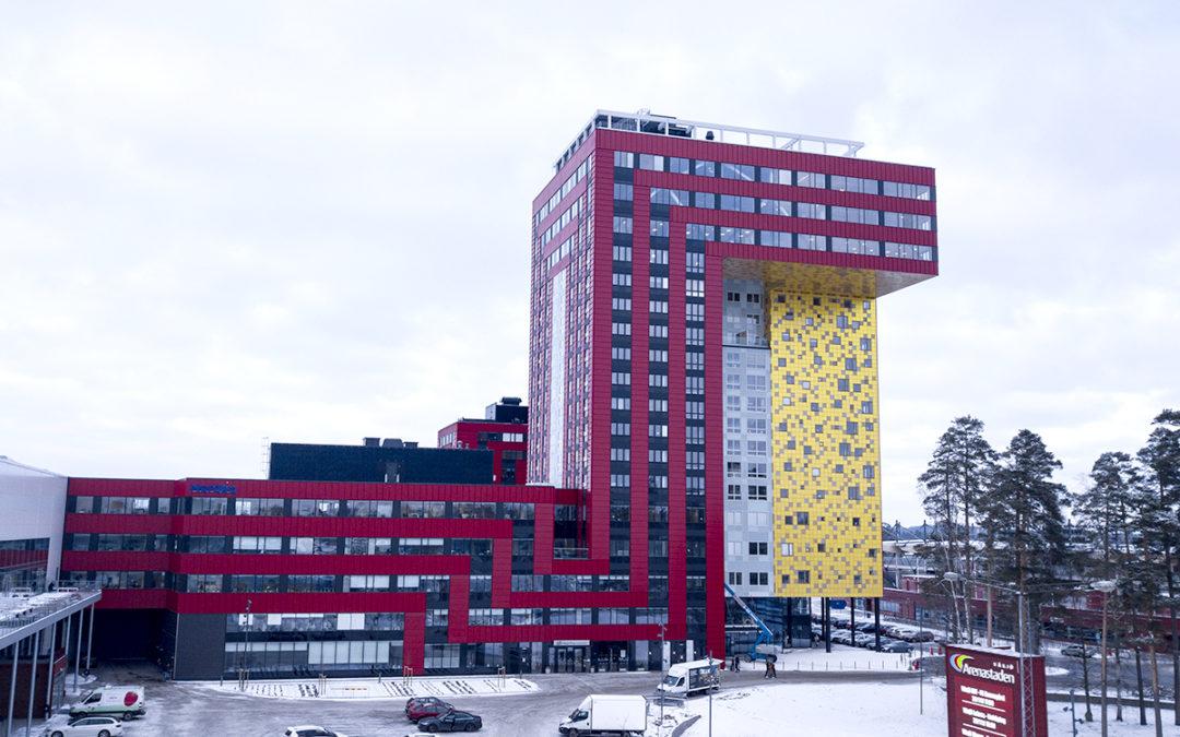 Säkert landmärke i Växjö