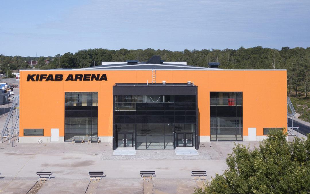 KIFAB Arena tar form – Elektroskandia levererar all elmateriel