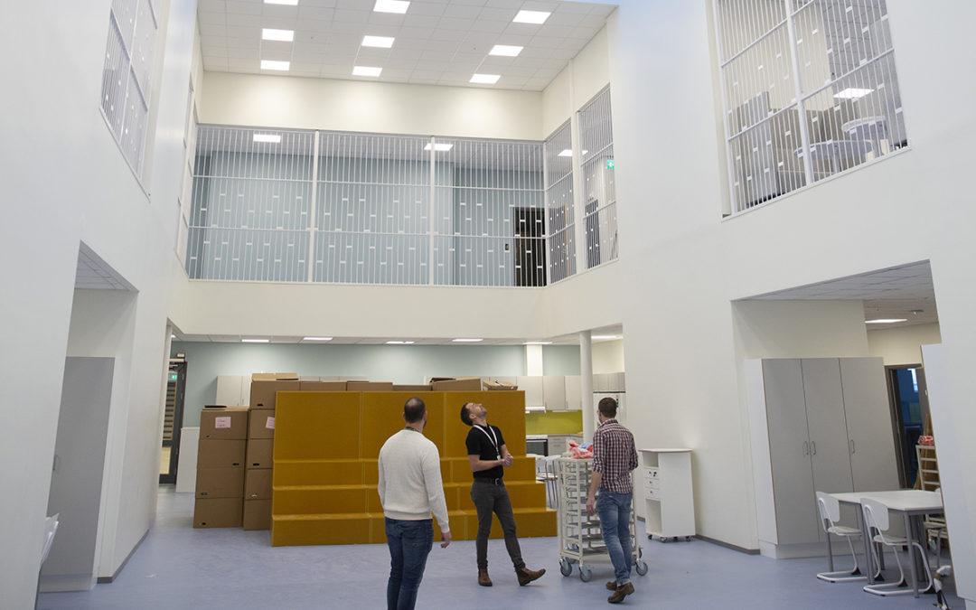 Elektroskandia totalleverantör till MSI-EL och Mariebergsskolan i Motala