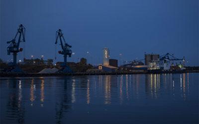 Oxelösunds Hamn investerar i ny belysning