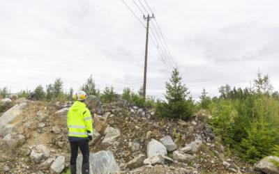 Miljön i fokus vid uppgradering av elnätet i Smedjebacken