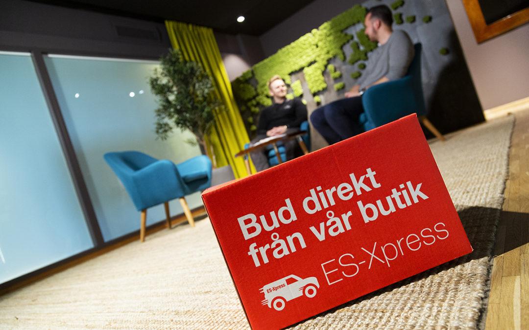 """""""Vi använder oss ofta av ES-Xpress – det spar tid och effektiviserar vårt arbete!"""""""