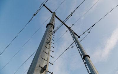 Kundunika stålrörsstolpar – ONE Nordic sparade tid vid ombyggnad av elnät