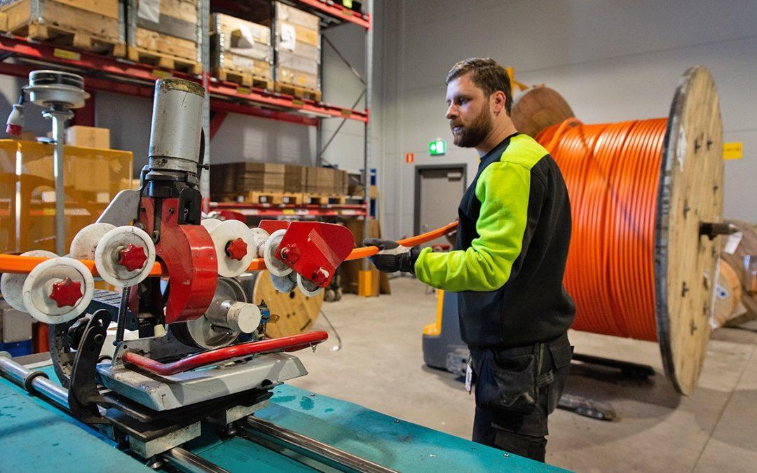 Ny kaptjänst för kanalisation ökar effektiviteten och säkrar kvaliteten