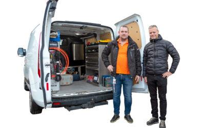Nytt koncept – Kundunikt lager i bil
