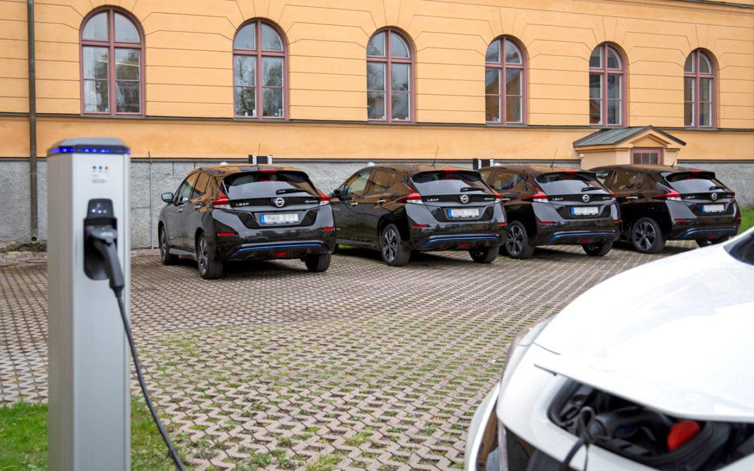 Satsning på laddstationer för elbilar en del i Svenska  kyrkans miljö- och klimatarbete