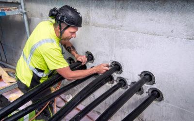 Ny typ av  kabelgenomföring effektiviserade  installationen