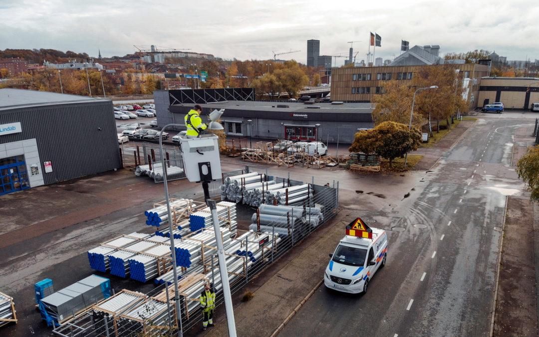 Trafiksystem Väst valde kostnadseffektiv logistik- och lagerlösning från Elektroskandia