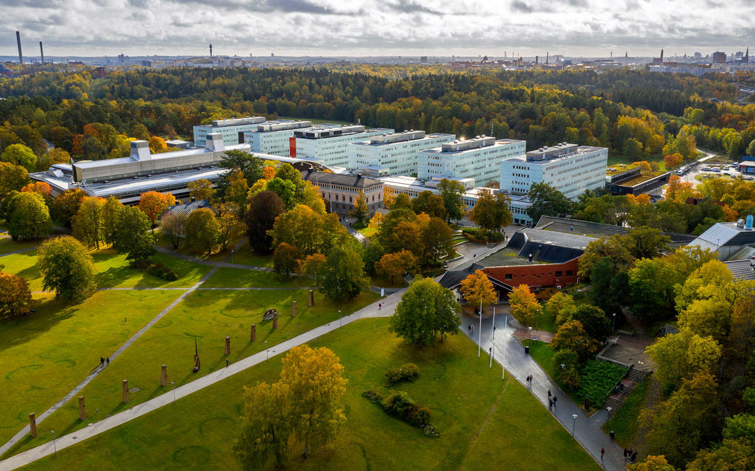 Snabb service vid Stockholms universitet – Säkerhetsföretagen delar på kundunikt lager