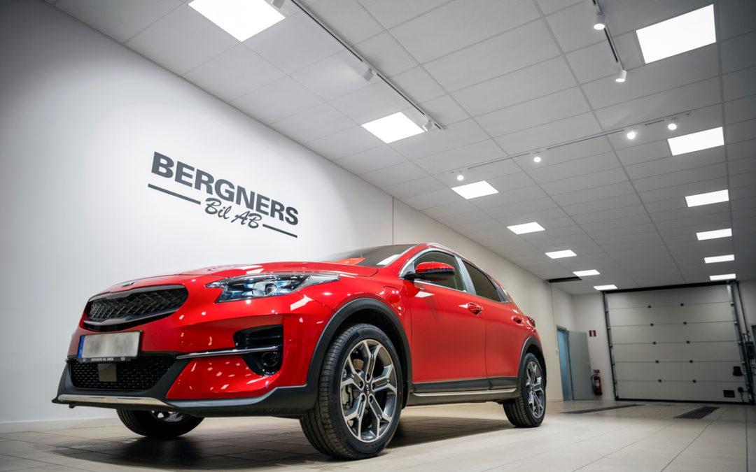 Cebe Belysning lyser upp hos Bergners Bil