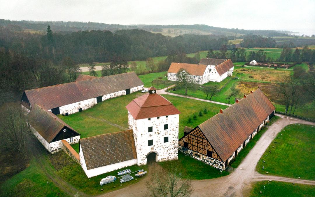 Nytt brandlarm säkrar Hovdala slott