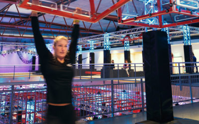 Nyöppnade Ninja World skapar stimulerande träningsmiljö med ljus