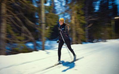 Ny belysning till Skistars längdspår i Åre