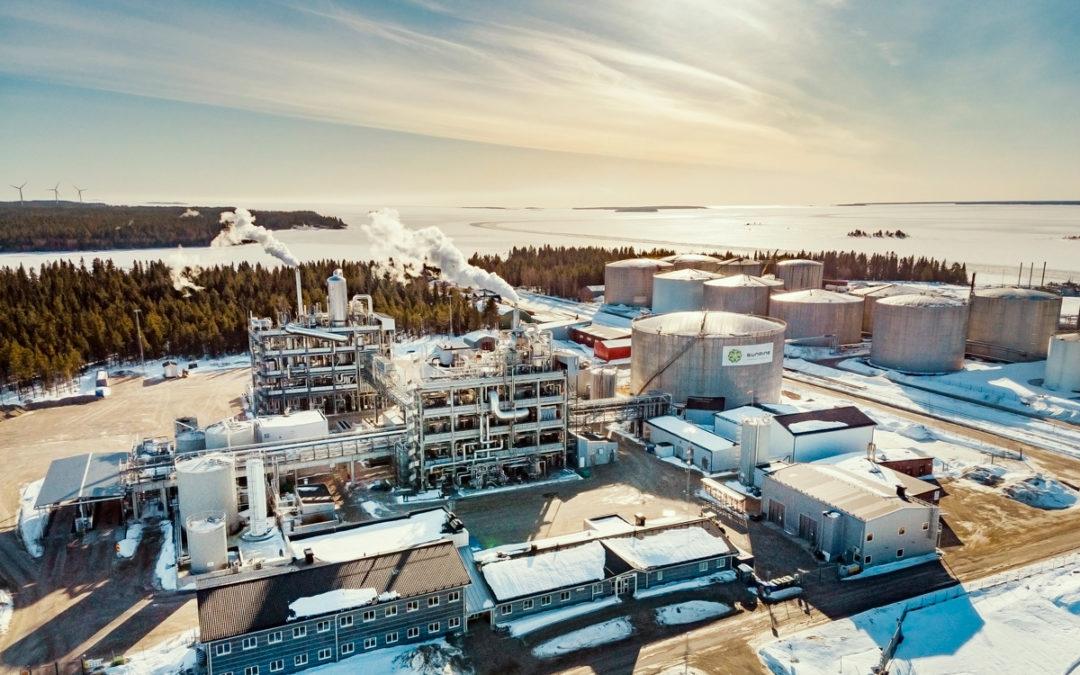 Stora leveranser av elmateriel till SunPines nya fabrik för förnyelsebara drivmedel