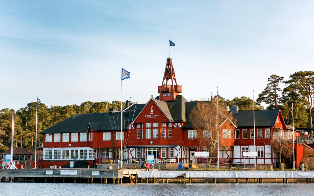 Säkra leveranser till elarbeten på Sandhamn Seglarhotell