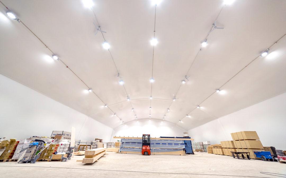 Föreningar har gått ihop i unikt hallbygge och skapat Gullspång arena